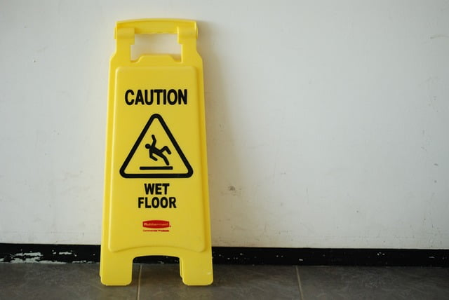 Why take pictures of a Slip and Fall location?